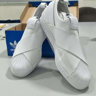 愛迪達繃帶鞋 白