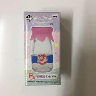 Pokemon 一番賞 牛奶小物瓶
