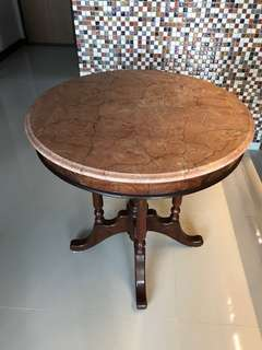Peranakan Marble top table