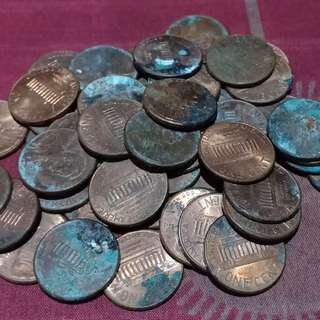 50 pcs one penny