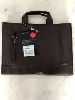 "Samsonite 13"" Slim Laptop Bag - T7130s Coffee Colour"