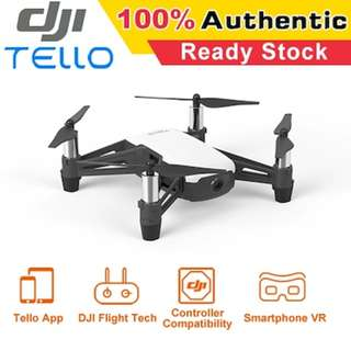 DJI Tello ★New Arrive ★ AUTHENTIC ★ Drone ★100% Authentic