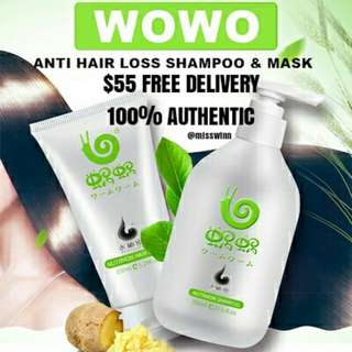 100% Authentic - Shampoo + Mask