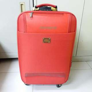 4 Wheels Luggage Size H 22inch W 13inch