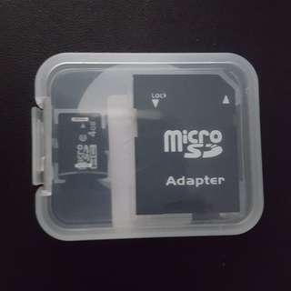 Bn Micro-Sd Card 4GB