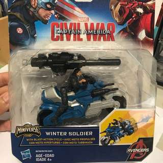 Marvel Civil War Winter Soldier Blast Bike Cycle