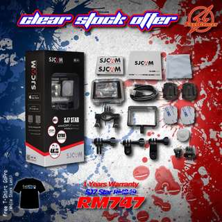 SJCAM SJ7 Star Basic Set