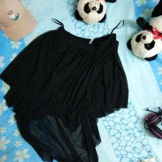 Lowback skirt