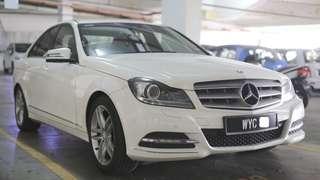Mercedes C250 W204A