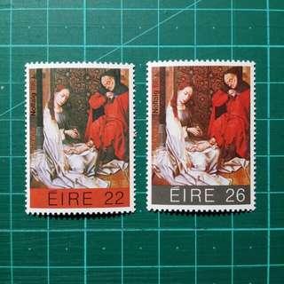1983 愛爾蘭 聖誕郵票 新票一套
