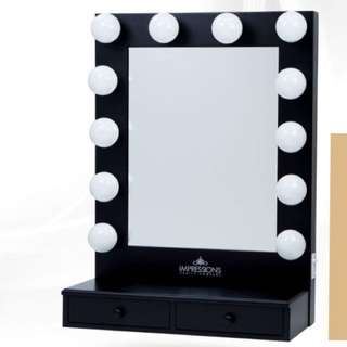 Vanity Mirror with 2 drawers