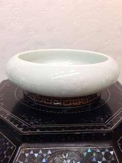 Porcelain-白梅笔冼D10cm