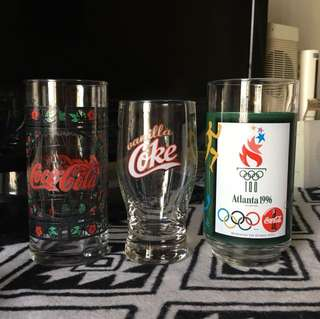 Coca-Cola Coke Vintage Glass Collection