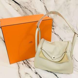 NEW Hermes Lindy 30 Beton