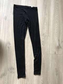Thin Uniqlo Black Leggings