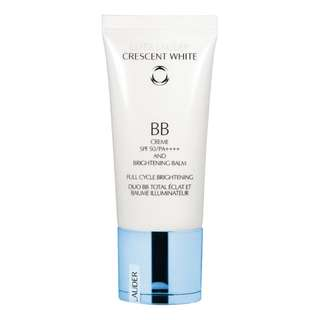 【SAVED $53】Estee Lauder Crescent White BB Creme SPF 50/PA++++ And Brightening Balm Full Cycle Brightening 30ml