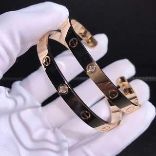 Cartier love leve bangle bracelet