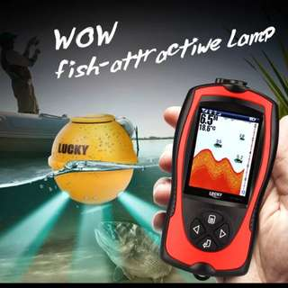 Lucky FF1108-1CWLA Wireless Fish Finder with Attractive Lights