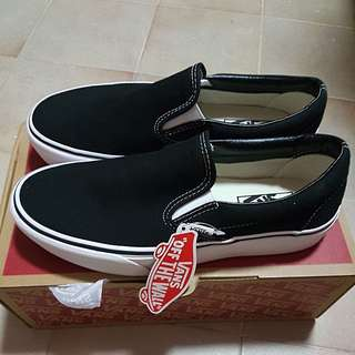 Vans Classic Slip-On Platform Shoes