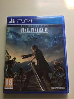 PS4 Final Fantasy XV One Day Edition