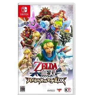 (預訂) NS Switch Hyrule Warriors: Definitive Zelda 無雙 海拉魯群星集結 DX (美版)