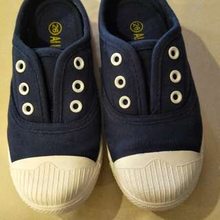 Kids canvas shoes, shoes length 18cm