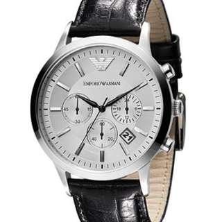 [INSTOCK] Emporio Armani Silver Watch