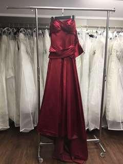 婚紗 晚裝 evening gown wedding gown sample sale