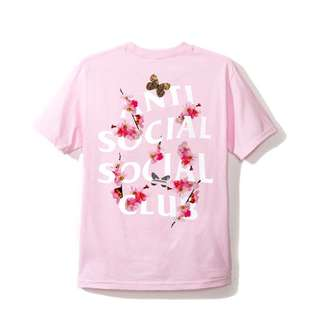 ASSC Asia Exclusive Peach Love Pink Tee