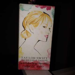 INCREDIBLE THINGS (perfume by Taylor Swift)