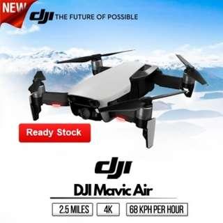 DJI Mavic Air 4K in DJI's Most Portable Camera Drone Ever (Local Warranty!