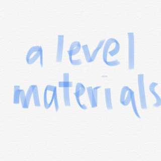 a level materials in hard copy
