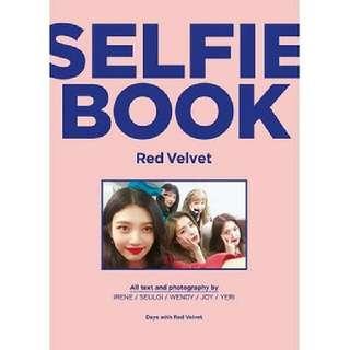[Preorder] Red velvet- Selfie Book: Red Velvet