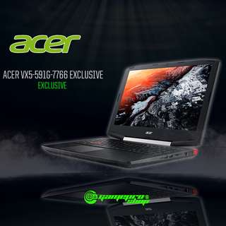 ACER VX5-591G-7766 (BLK) EXCLUSIVE(GTX 1050 4GB GDDR5)