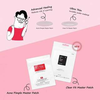 Cosrx Acne Pimple Master Patch / Clear Fit Master Patch