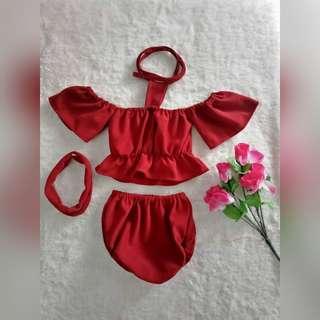 Baby Girl Summer OOTD set