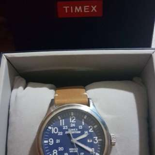 Timex expedition leather strap