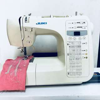 Juki Semi Digital Sewing Machine HZL E80 - Used Machine