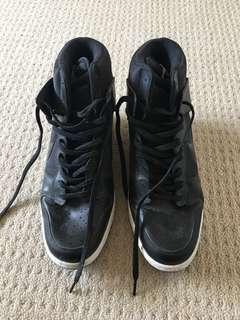 Nike ski high wedge sneakers