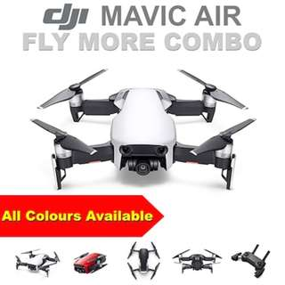 DJI MAVIC AIR Fly More COMBO  Authorized SG Dealer ★ International Warranty