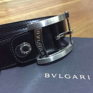 BVLGARI men's belt