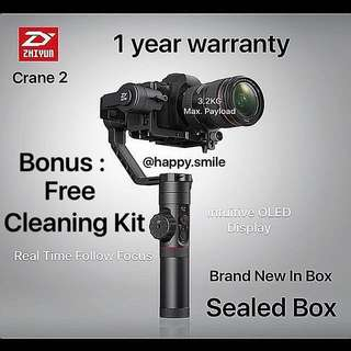 On Sales Zhiyun Crane 3 (BNIB) local set