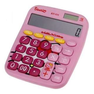 Hello Kitty 12 Digit Solar Calculator