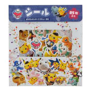 Pokemon Center TOKYO DX Exclusive Pikachu Seal Sticker (Pre-Order)