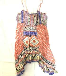 Charity Sale! Authentic Angie Flowy Top size Large