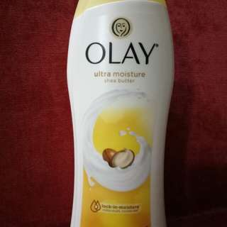 IMPORTED OLAY SHEA BUTTER ULTRA MOISTURE BODY WASH
