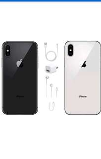 Apple iPhone X 256GB - GSM & CDMA Unlocked - USA Model - Apple Warranty - BRAND NEW!