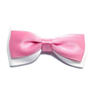 Handmade Korean Style Fantasy Pink Hair Bow Clip Etc