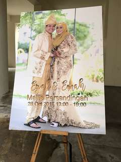 Wedding Entrance Signboard Design Venue Decor