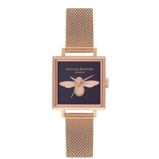 Olivia Burton Moulded Bee Rose Gold Women Watch